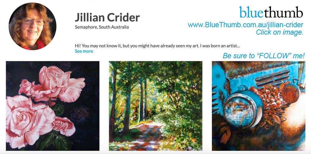 artist jillian (Jillian Crider) on BlueThumb online art gallery - buy original art